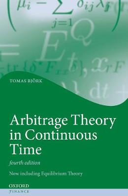 9780198851615 - Arbitrage Theory in Continuous Time
