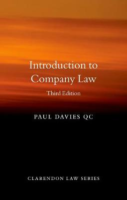 9780198854920 - Introduction to Company Law