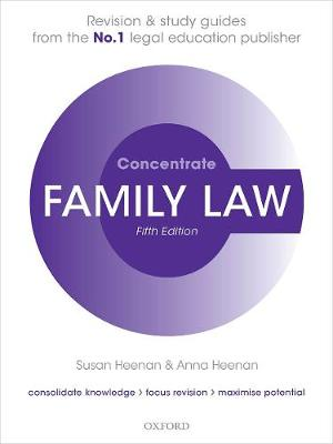 9780198854968 - Family Law Concentrate: Law Revision and Study Guide