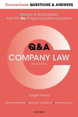 9780198856726 - Concentrate Questions and Answers Company Law: Law Q&A Revision and Study Guide