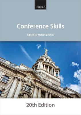 9780198860396 - Conference Skills