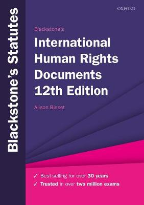 9780198860921 - Blackstone's International Human Rights Documents