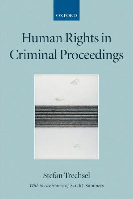 9780199271207 - Human rights in criminal proceedings