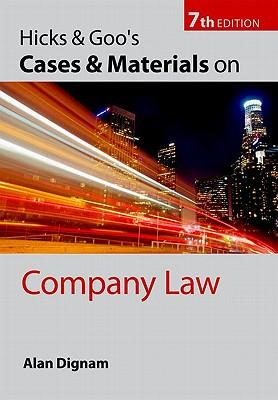 9780199564293 - Hicks & goo's cases and materials on company law