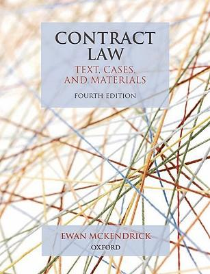 9780199579792 - Contract law: text, cases, and materials 4/e