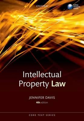 9780199581429 - Intellectual property law core text