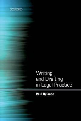 9780199589890 - Writing and Drafting in Legal Practice