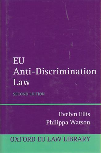 9780199698462 - Eu anti discrimination law