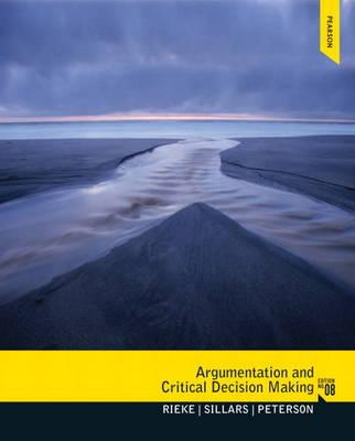9780205210596 - Argumentation and Critical Decision Making