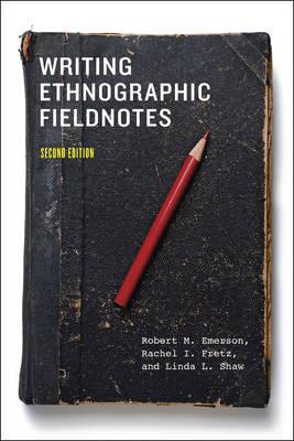 9780226206837 - Writing ethnographic fieldnotes