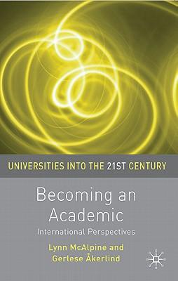 9780230227910 - Becoming an academic