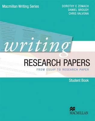 9780230421943 - Writing Research Papers