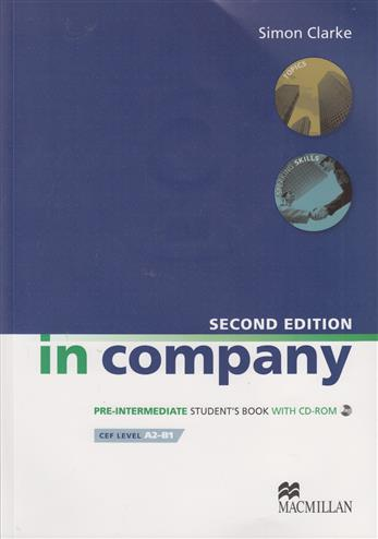 9780230717190 - In Company Student's Book & CD-ROM Pack Pre-intermediate Level