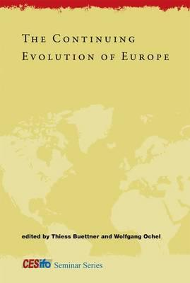9780262017015 - The continuing evolution of europe