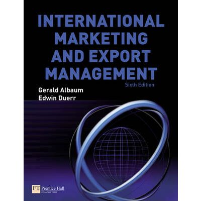 9780273713876 - International marketing and export management