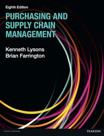 9780273723714 - Purchasing and Supply Chain Management