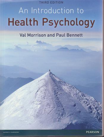 9780273735199 - Introduction to health psychology