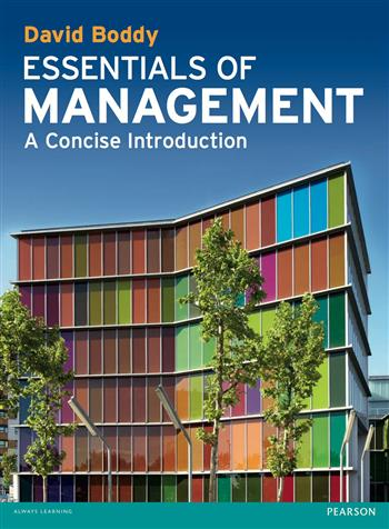 9780273739326 - Essentials of Management