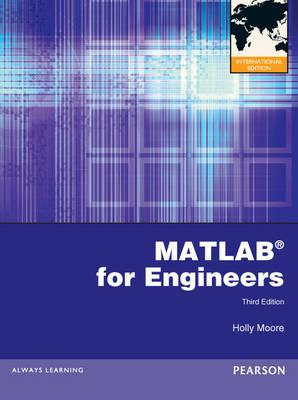 9780273764168 - Matlab for engineers