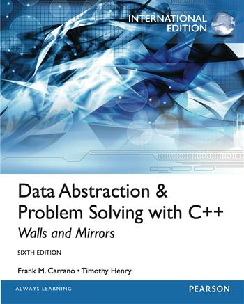 9780273778271 - Data Abstraction & Problem Solving with C++: International Edition