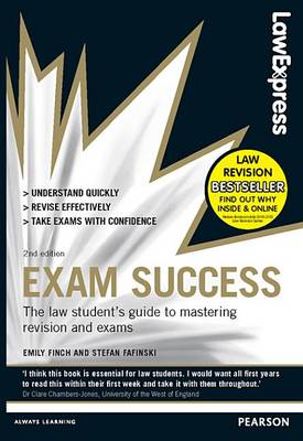 9780273792901 - Law Express: Exam Success (Revision Guide)