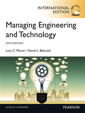 9780273793953 - Managing Engineering and Technology, International Edition