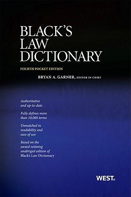 9780314275448 - Black's law dictionary
