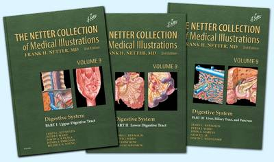 9780323396257 - The Netter Collection of Medical Illustrations: Digestive System Package