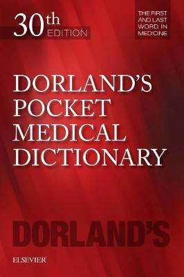 9780323554930 - Dorland's Pocket Medical Dictionary