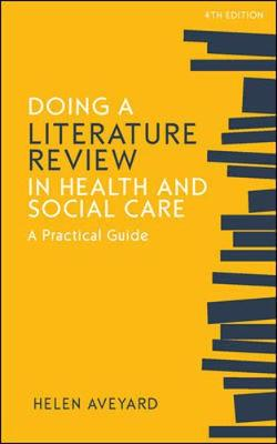 9780335248001 - Doing a Literature Review in Health and Social Care: A Practical Guide
