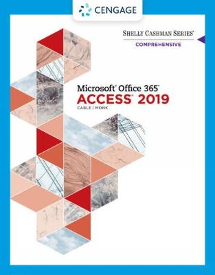 9780357026397 - Shelly Cashman Series (R) Microsoft (R) Office 365 (R) & Access 2019 Comprehensive