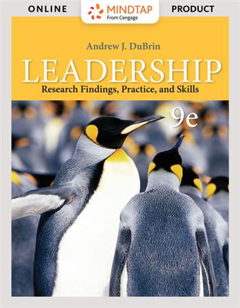 9780357042496 - Leadership: Research Findings, Practice, and Skills
