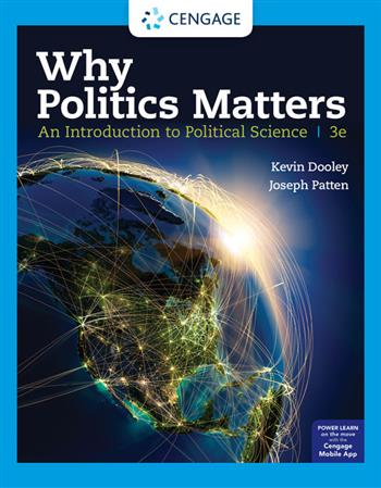 9780357137468 - Why Politics Matters: An Introduction to Political Science