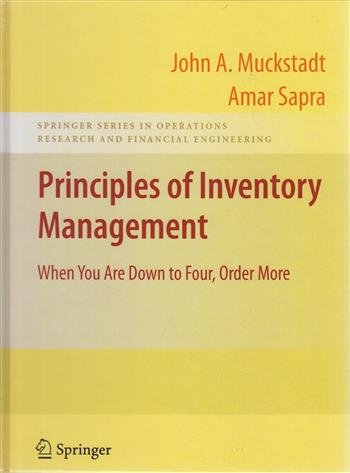 9780387244921 - Principles of Inventory Management
