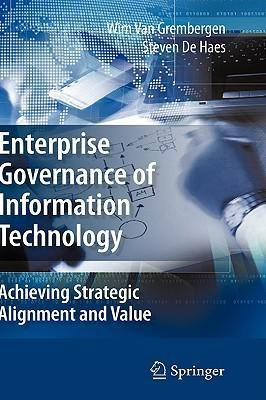 9780387848815 - Enterprise governance of information technology