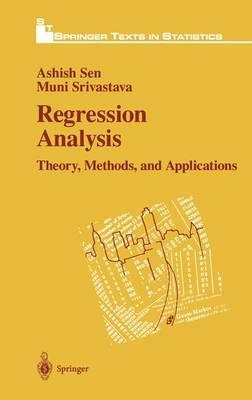 9780387972114 - Regression Analysis: Theory And Methods