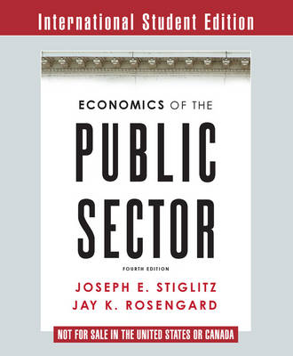 9780393270181 - Economics of Public Sector ISE