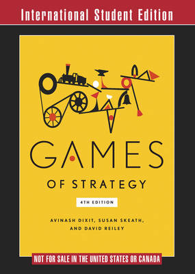 9780393522389 - Games of Strategy ISE