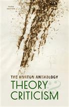 9780393602951 The Norton Anthology of Theory and Criticism, 3rd Edition