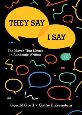 9780393631678 - They Say / I Say: The Moves That Matter in Academic Writing
