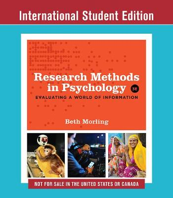 9780393643602 - Research Methods in Psychology - Evaluating a World of Information, with Ebook and InQuizitive