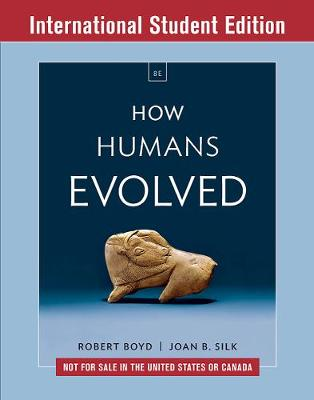 9780393655483 - How Humans Evolved (ISE)