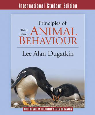 9780393922332 - Principles of animal behavior