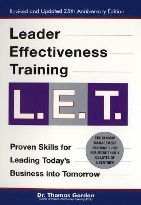 9780399527135 - Leader effectiveness training (new hardcover ed.)