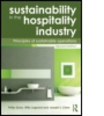 9780415531245 - Sustainability in the Hospitality Industry