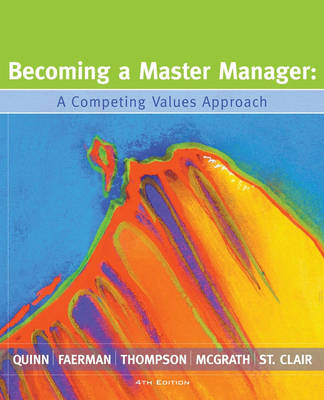 9780470050774 - Becoming a master manager: a competency framework