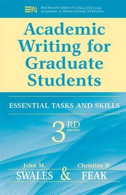 9780472034758 - Academic writing for graduate students: essential skills and tasks