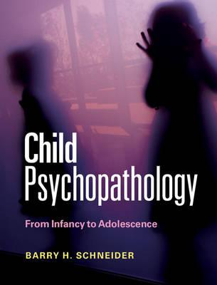 9780521152112 - Child Psychopathology: From Infancy to Adolescence