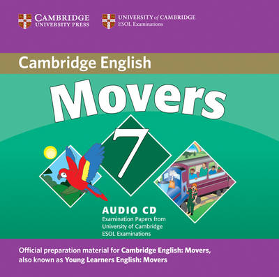 9780521173735 - Cambridge young learners english tests 7 movers audio-cd