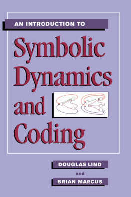 9780521559003 - An introduction to symbolic dynamics and coding